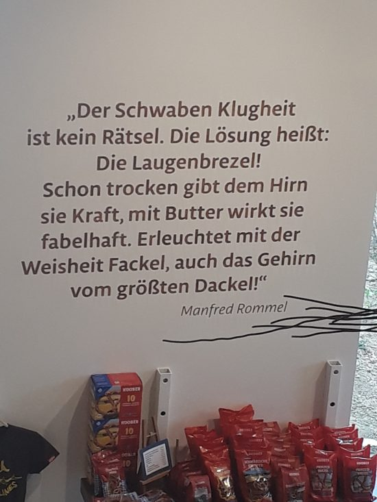 Besuch im Brezelmuseum