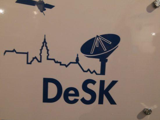 Besuch im Deutschen Zentrum für Satelliten-Kommunikation